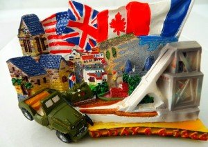Magnet D-Day Normandie. Leg