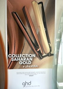 GHD photo poster Collection  SAHARAN GOLD