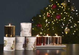Ashleigh & Burwood présentation ARTISTRY CANDLES XMAS