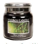 Village Candle Black bambou